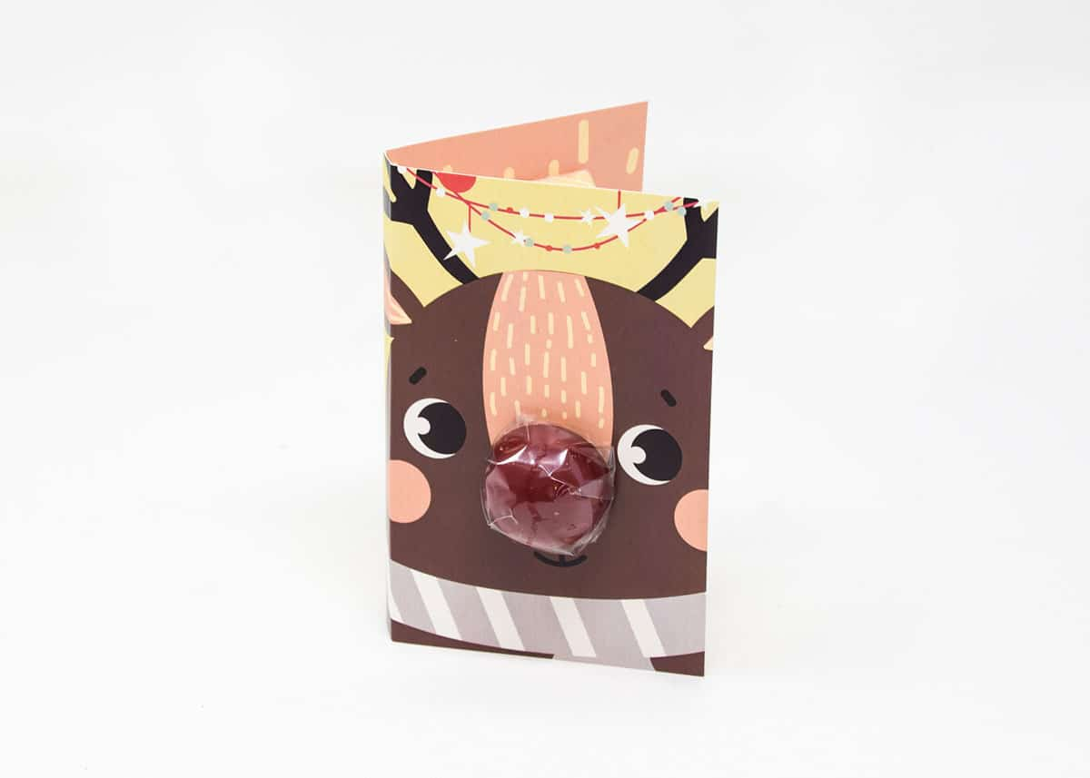 Rudolph Chocolate Gift Card