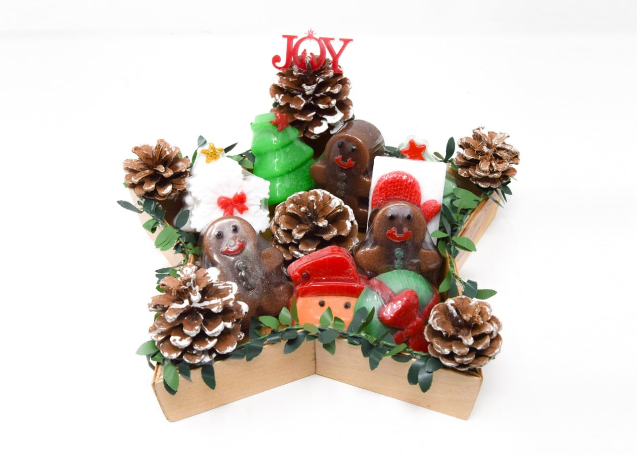Scented Soap Package Gift Set