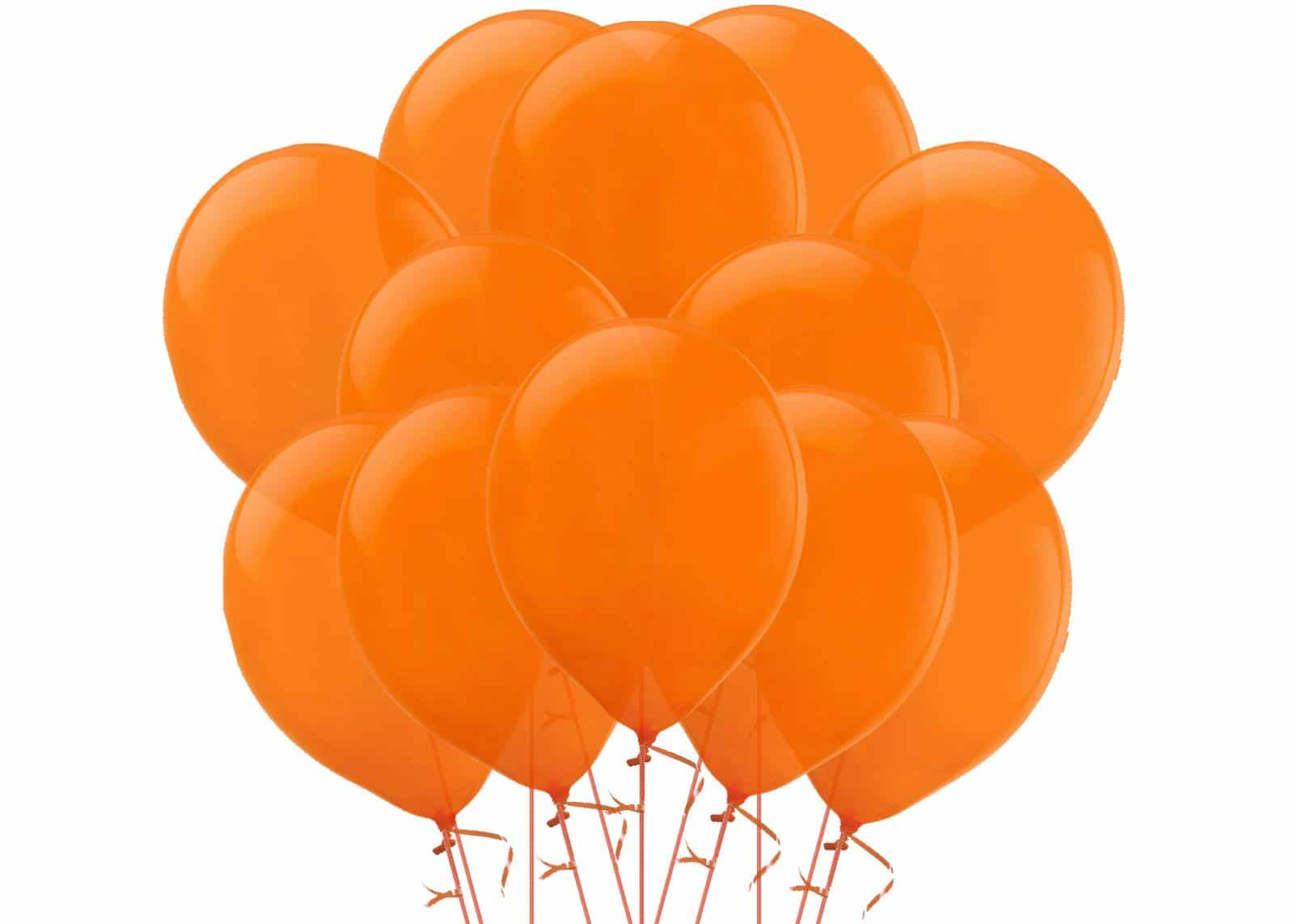 Orange-Balloon-Bouquet