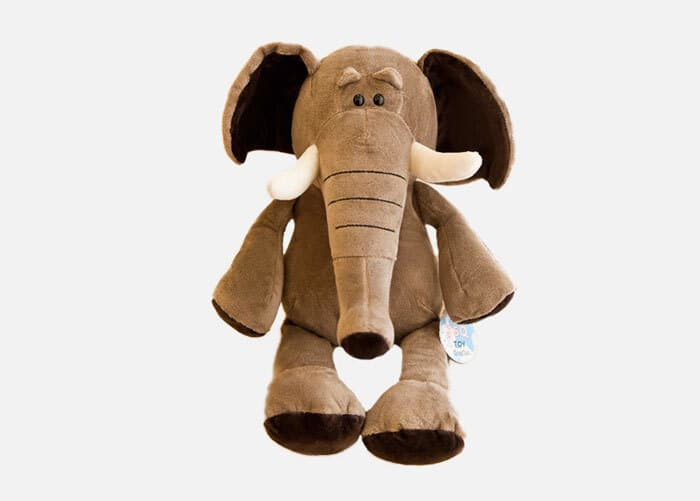 Stuffed Plush Cartoon Elephant Toy