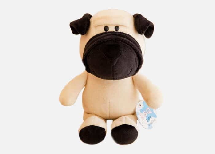 Stuffed Plush Cartoon Bulldog Toy