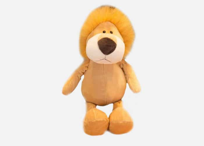 Stuffed Plush Cartoon Lion Toy