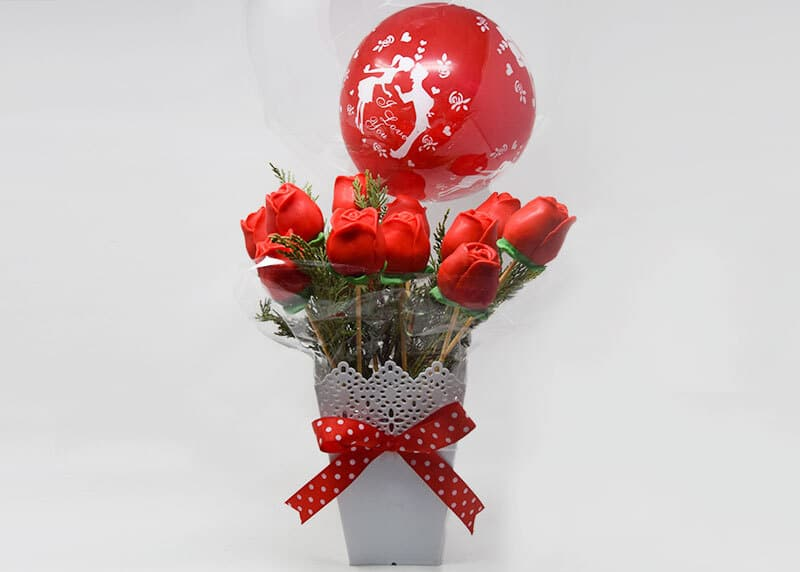 Valentine Scented Soap Bouquet