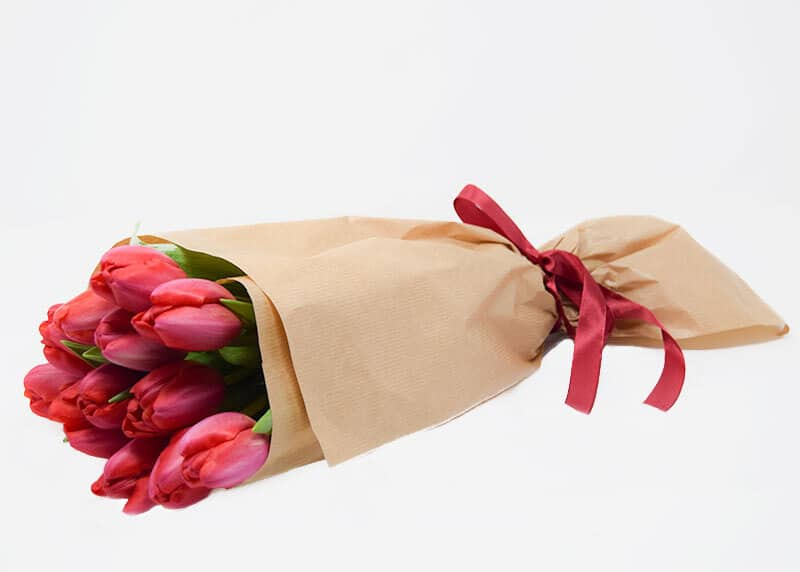 The Heartfelt Tulip Bouquet