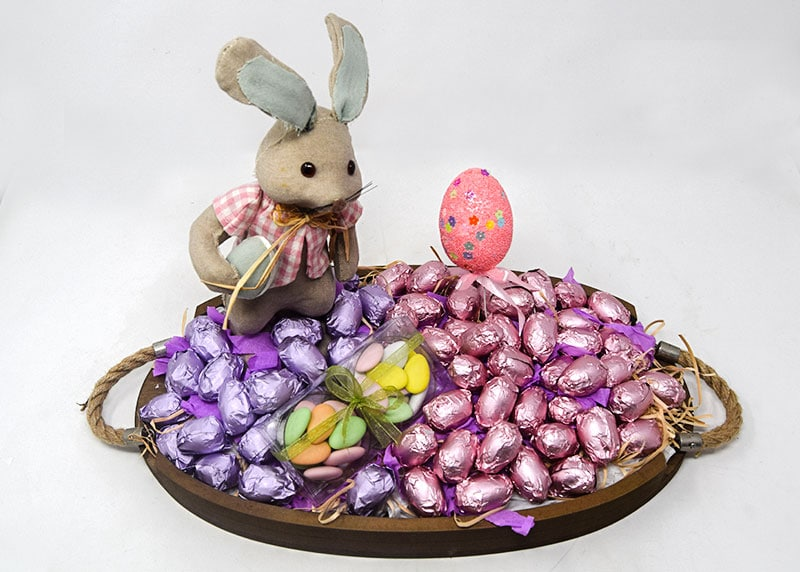 Hop into Spring - Chocolate Tray