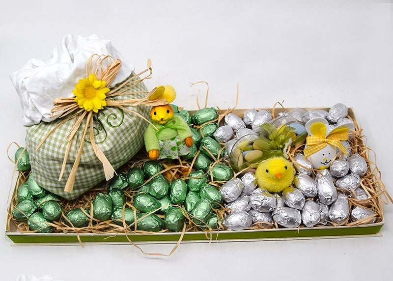 Spring Has Sprung - Chocolate Tray