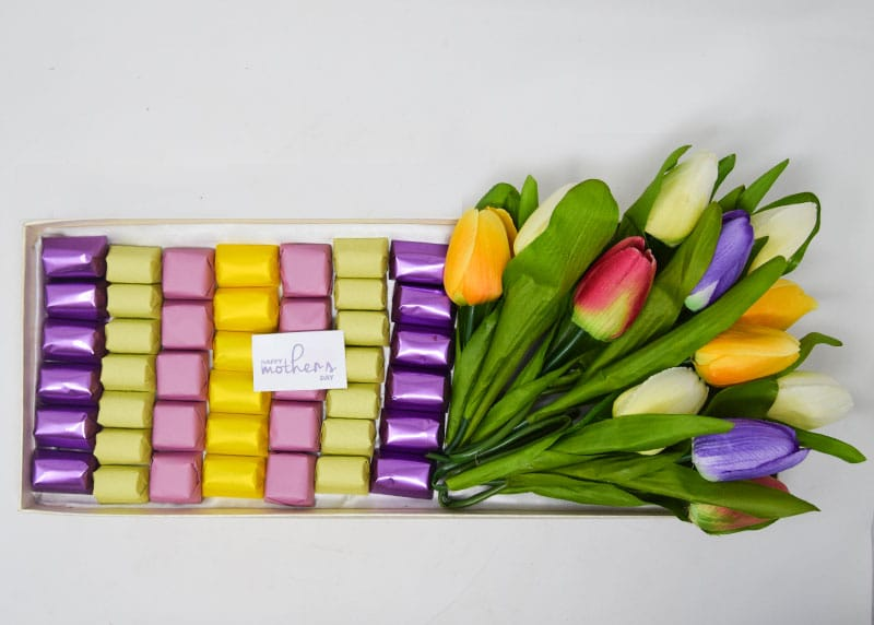 Field of Tulips - Chocolate Tray