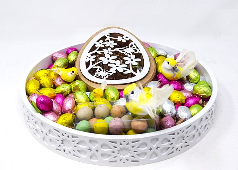 Easter Gathering Tray