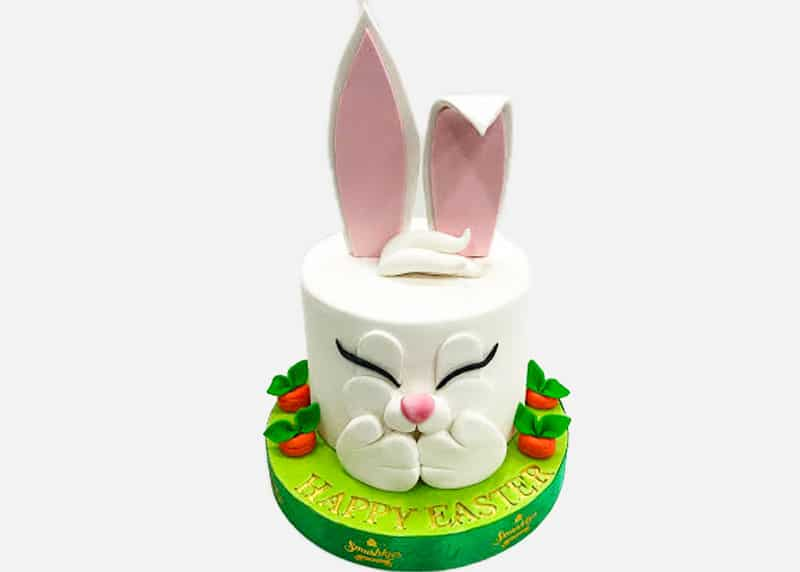 3D Easter Theme Cake