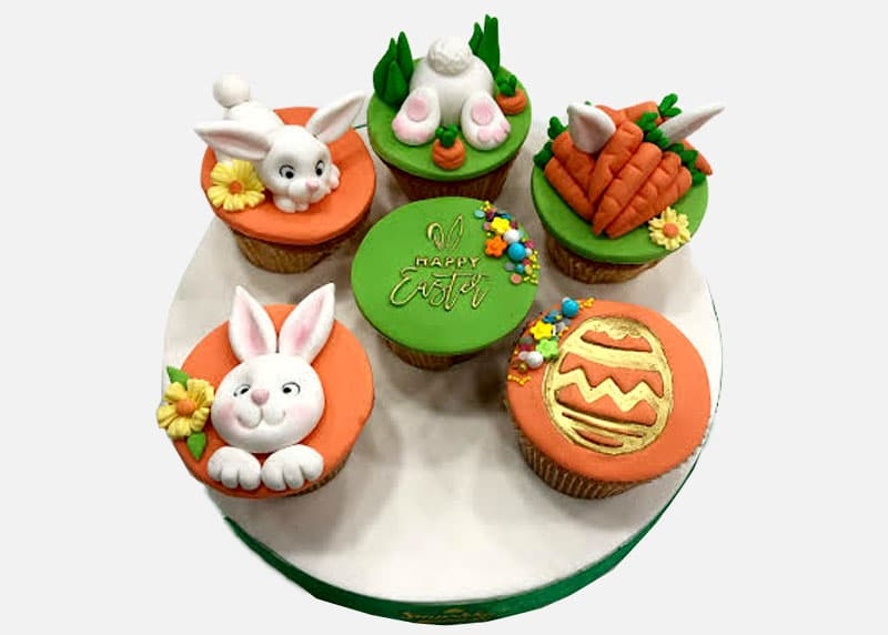 Easter Cupcakes Set