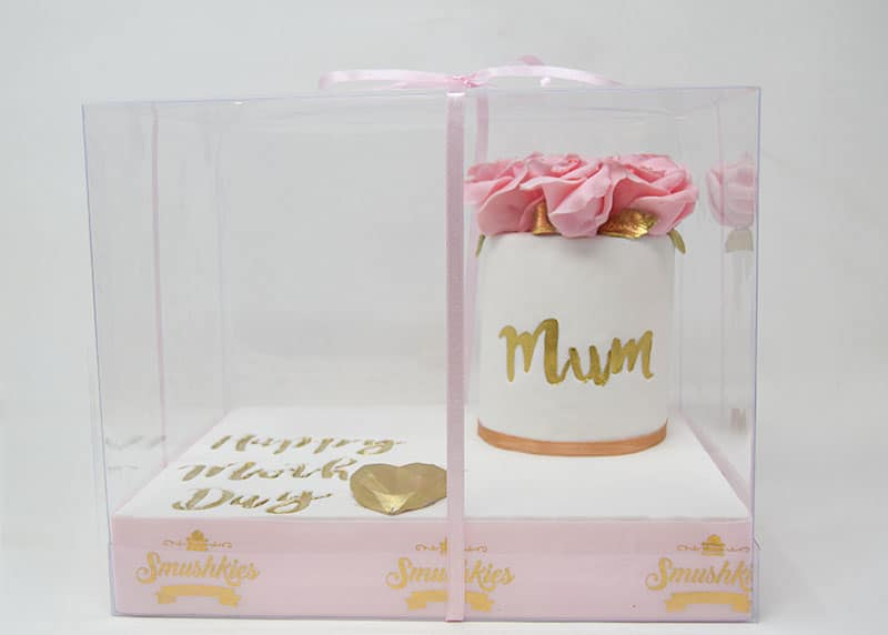 Mini Mother's Day Floral Cake