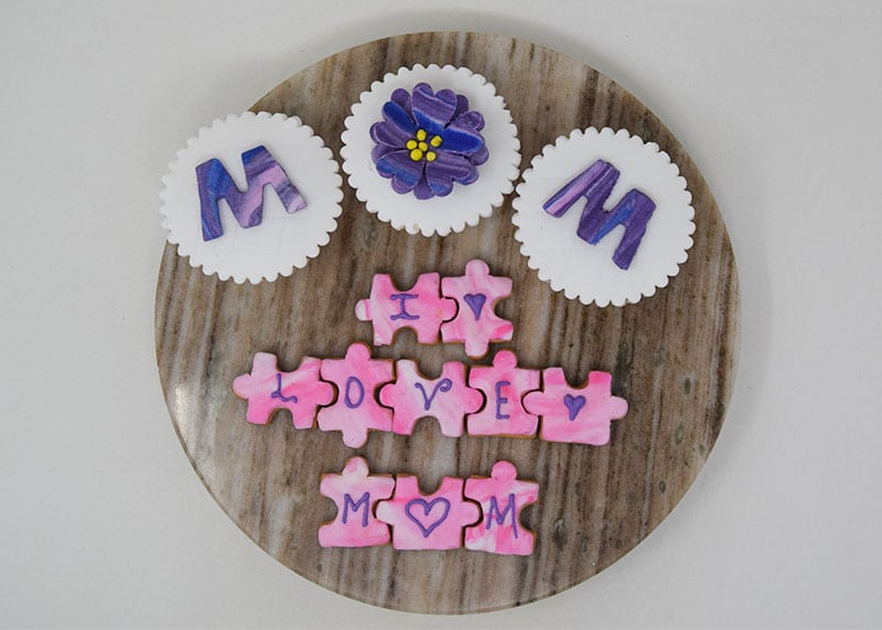 Sweet Puzzle for Mom