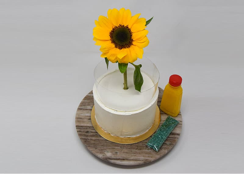 The Sunflower Cake