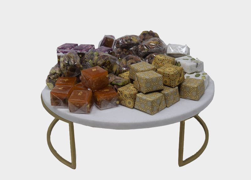 Marble Marvel - Sweets Gift Tray