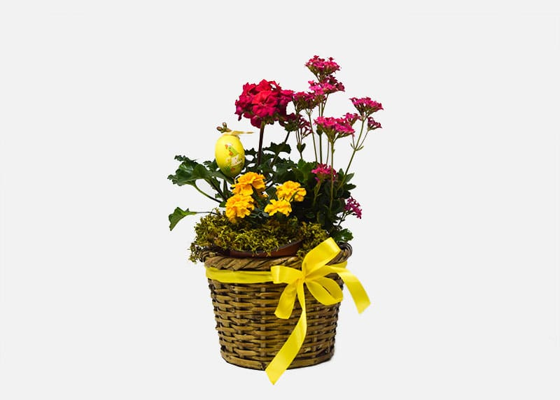 Popping Easter Flower Basket