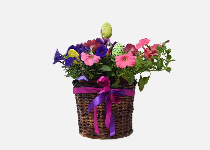 Pretty Pink Easter Basket