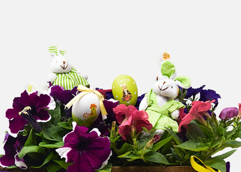 Easter Themed Flower Box