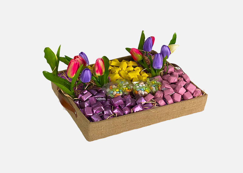 Floral Blast - Chocolate Gift Tray